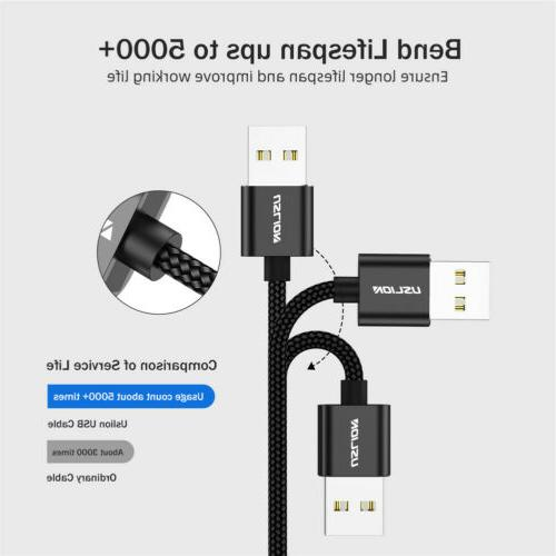 3A Degree Micro Usb Fast Charging Cable For Android