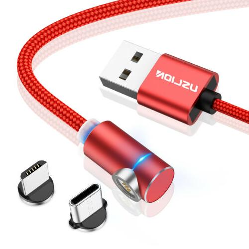 3A 90 Degree Fast Charging Data Cable