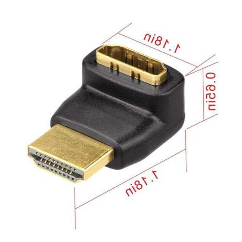 VCE 3Combos HDMI 90 Degree 270 Female