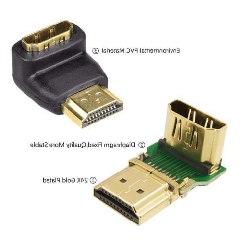 VCE 3D&4K HDMI and 270 Male Female Adapter