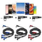 3in1 Type-C 8Pin Micro USB Fast Charging Sync Cable Braided