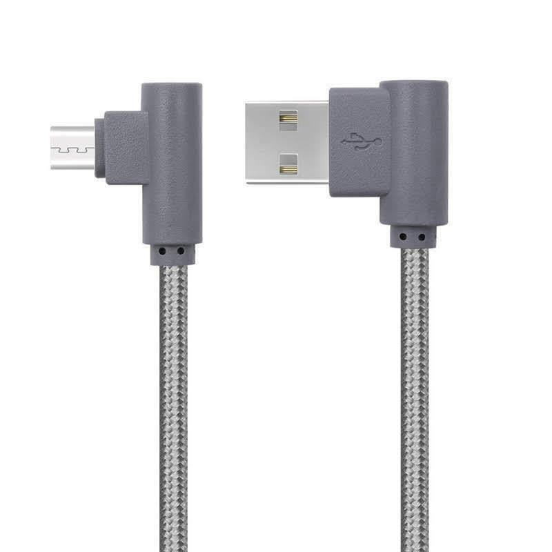 3x 90 Degree 6FT Fast USB Cord
