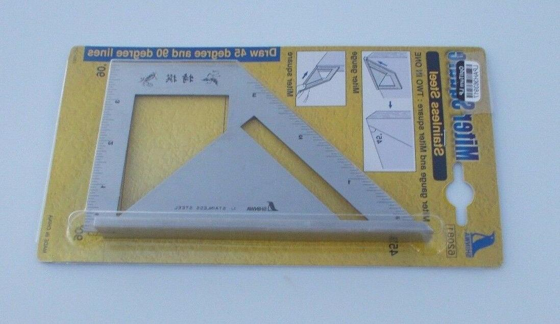 45 90 degree saddle square and miter