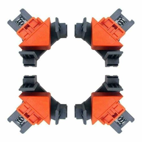4PCS 90 Degree Angle Frame Woodworking Corner Clamp