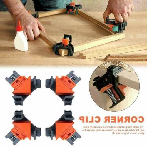 4pcs 90 degree right angle clamp holder