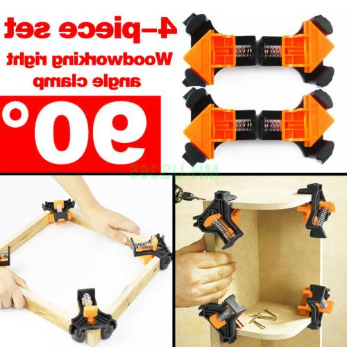 4pcs 90 degree right angle clip clamps