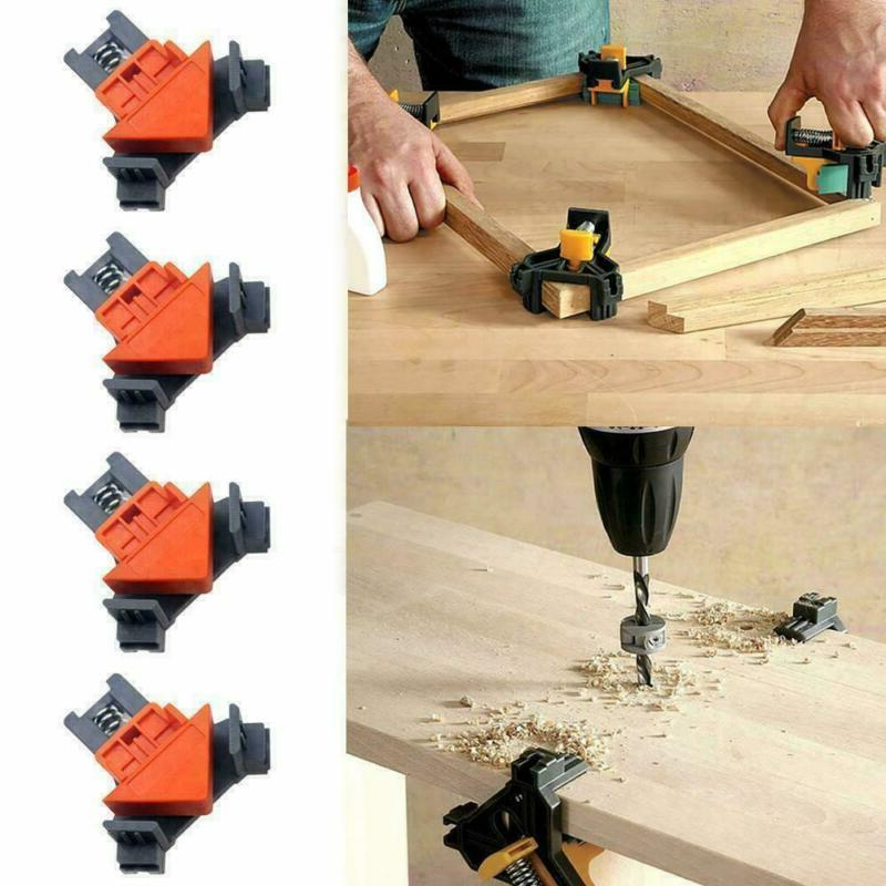 4PCS/Set 90 Angle Clip Corner Holder Tool New