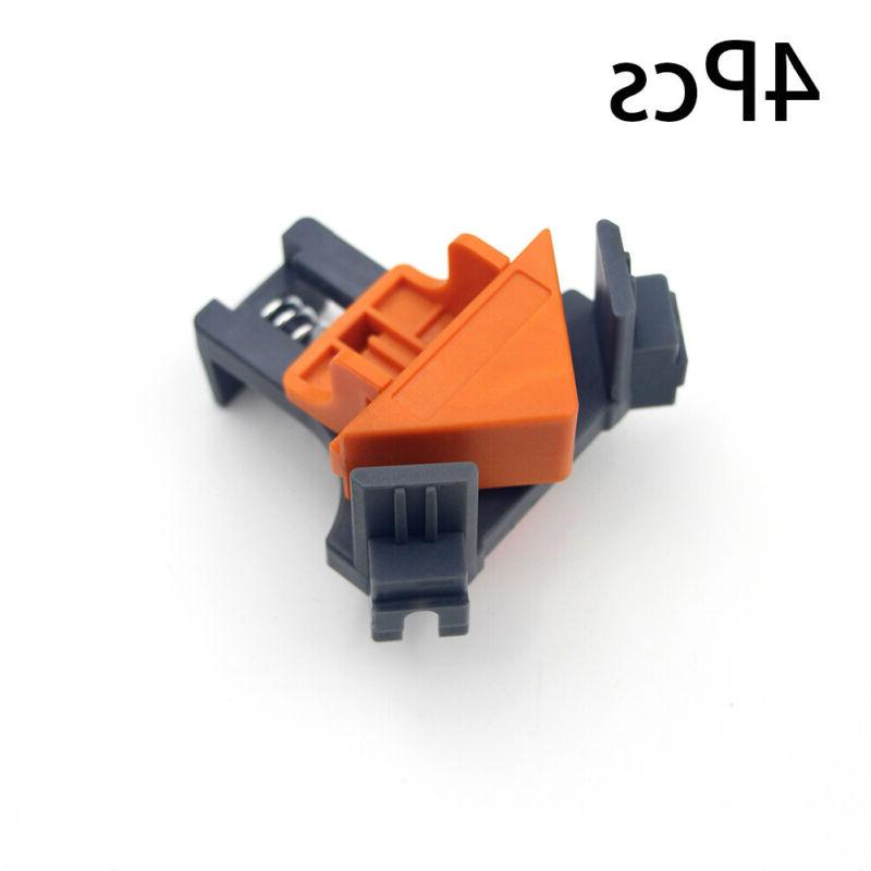 4PCS/Set 90 Angle Clip Holder