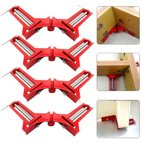 4X 90 Degree Right Angle Clip Fixing Picture Frame Corner Cl