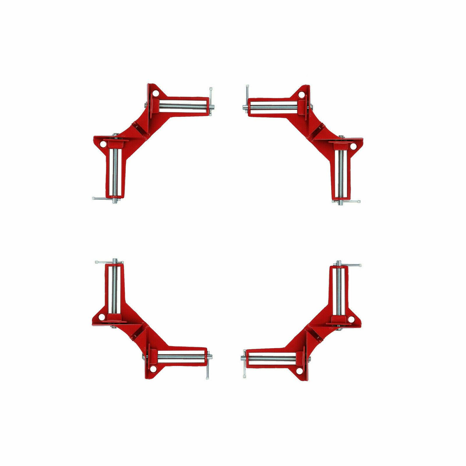 4x 90° Angle Picture Clamp Holder Kit