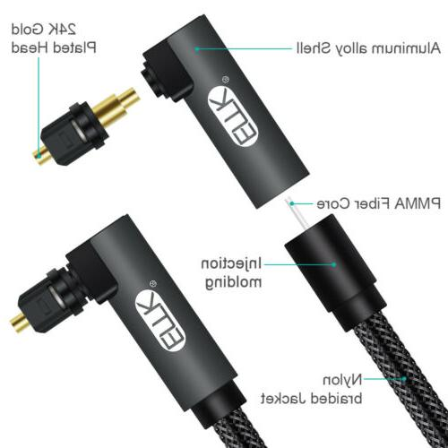 EMK Digital 90 degree Cable Optical Cable