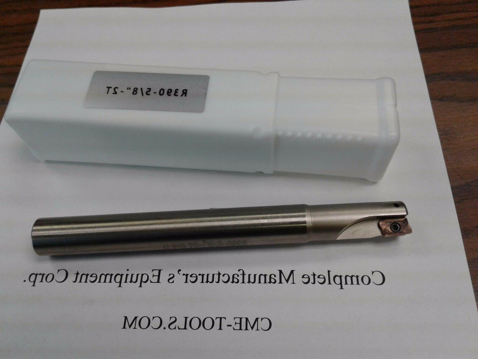 5 8 90 degree indexable end mill