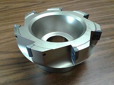 5 90 degree indexable face shell mill