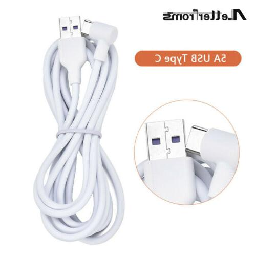 5A Degree Right Angle C Data Sync Charging Charger