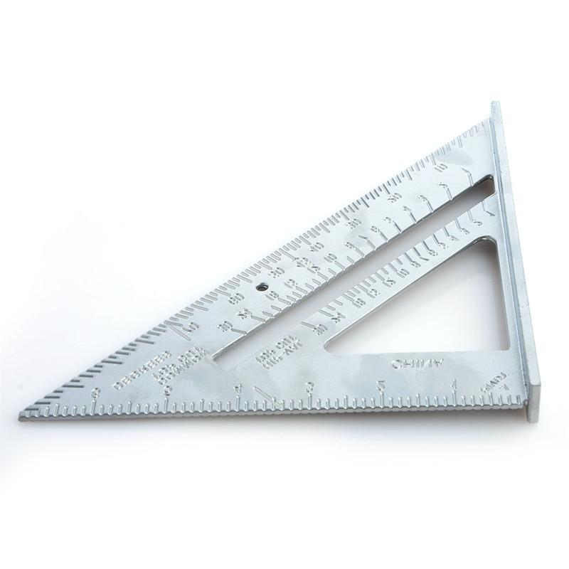 7 Inch Triangle Rule <font><b>90</b></font> <font><b>degree</b></font> Tools Triangle Speed Square