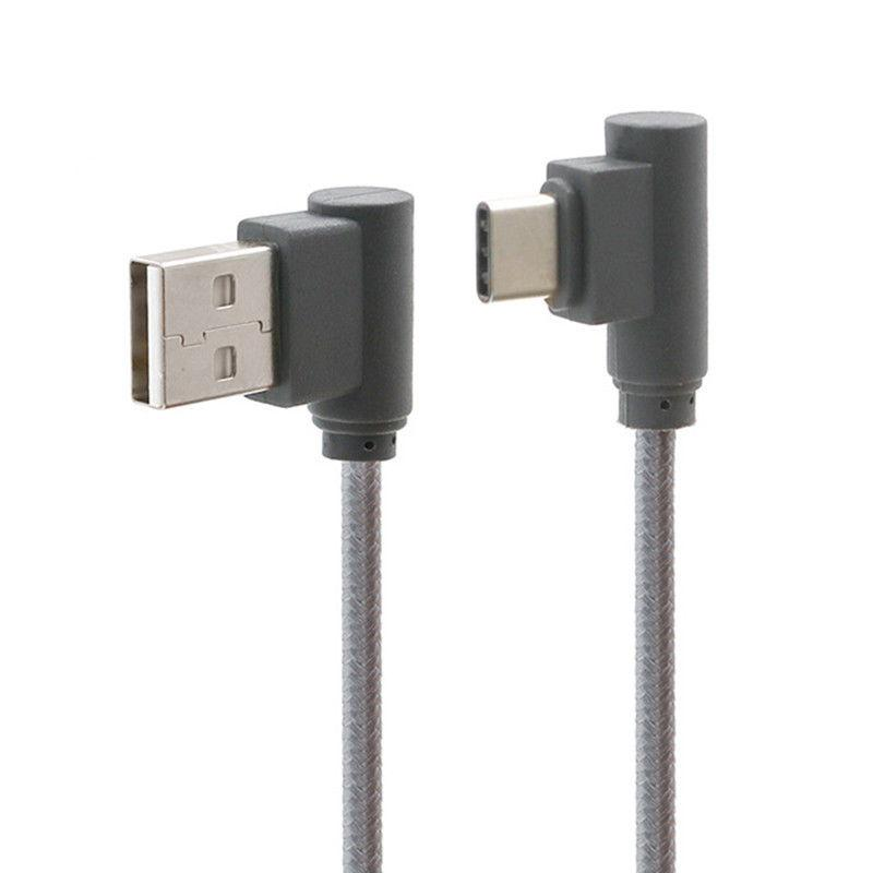 90 Degree Angle Fast Charge Cable