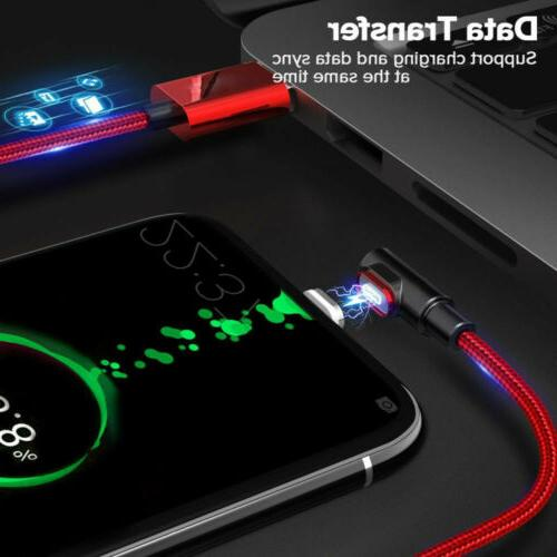 90 Degree 3A USB Micro USB Fast Charging Cable