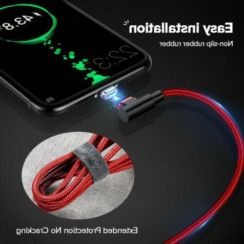 90 Degree Magnetic USB Charging