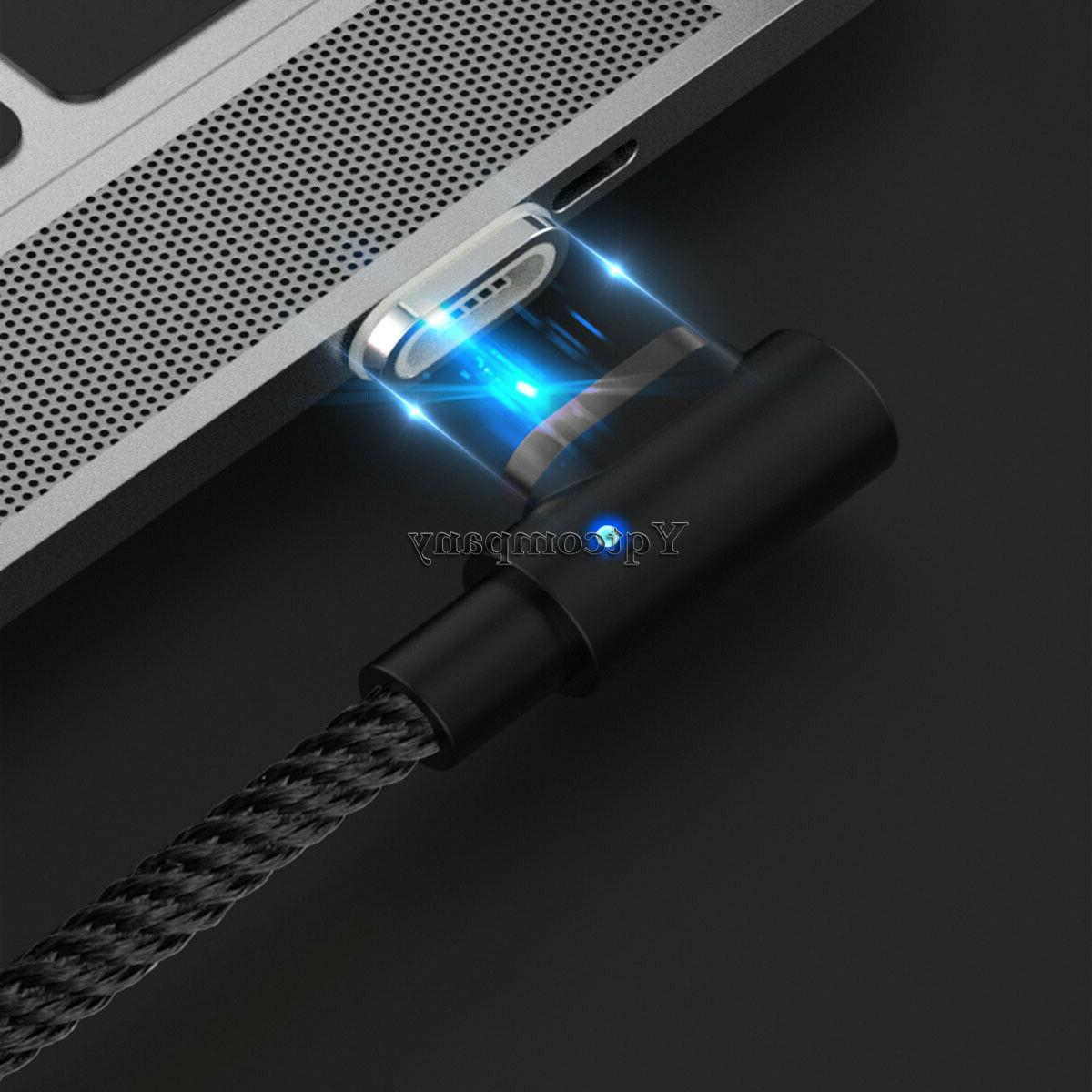 90 Degree Angle 6FT Fast Charge Sync Cord