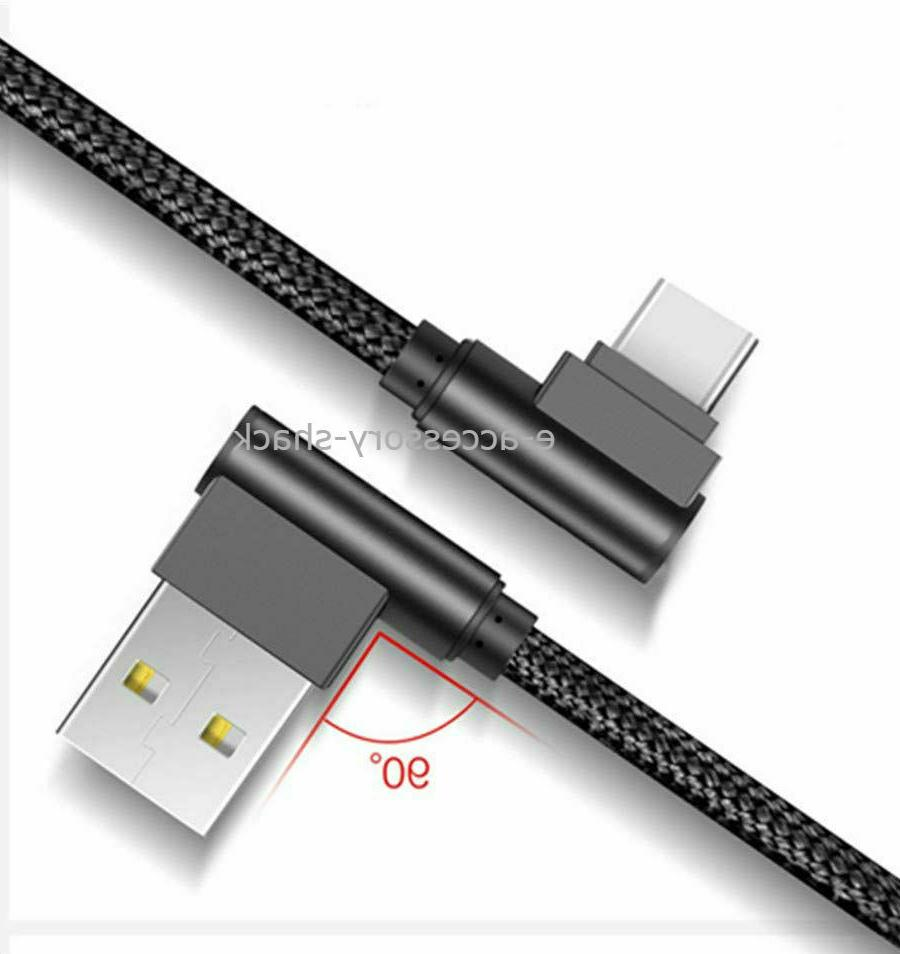 90 Degree C Cable For Samsung Galaxy A50 A70