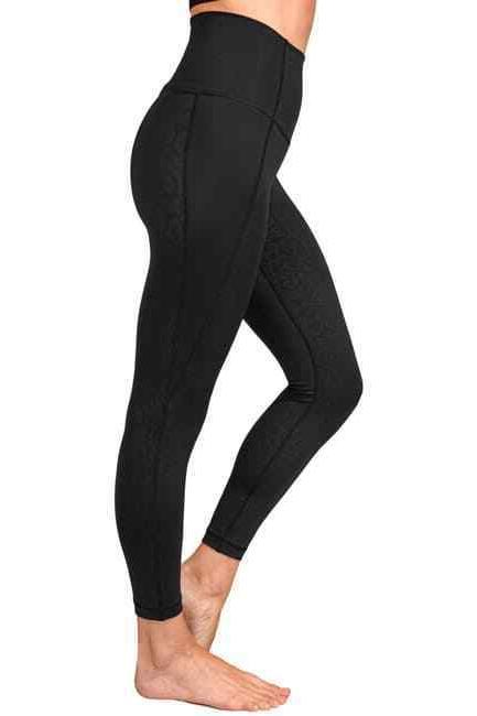 90 REFLEX ANKLE EMBOSSED LEGGING 100%