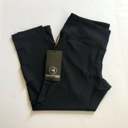 90 Black Workout Activewear NWT
