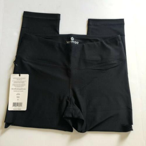 90 Black Capri Workout Large
