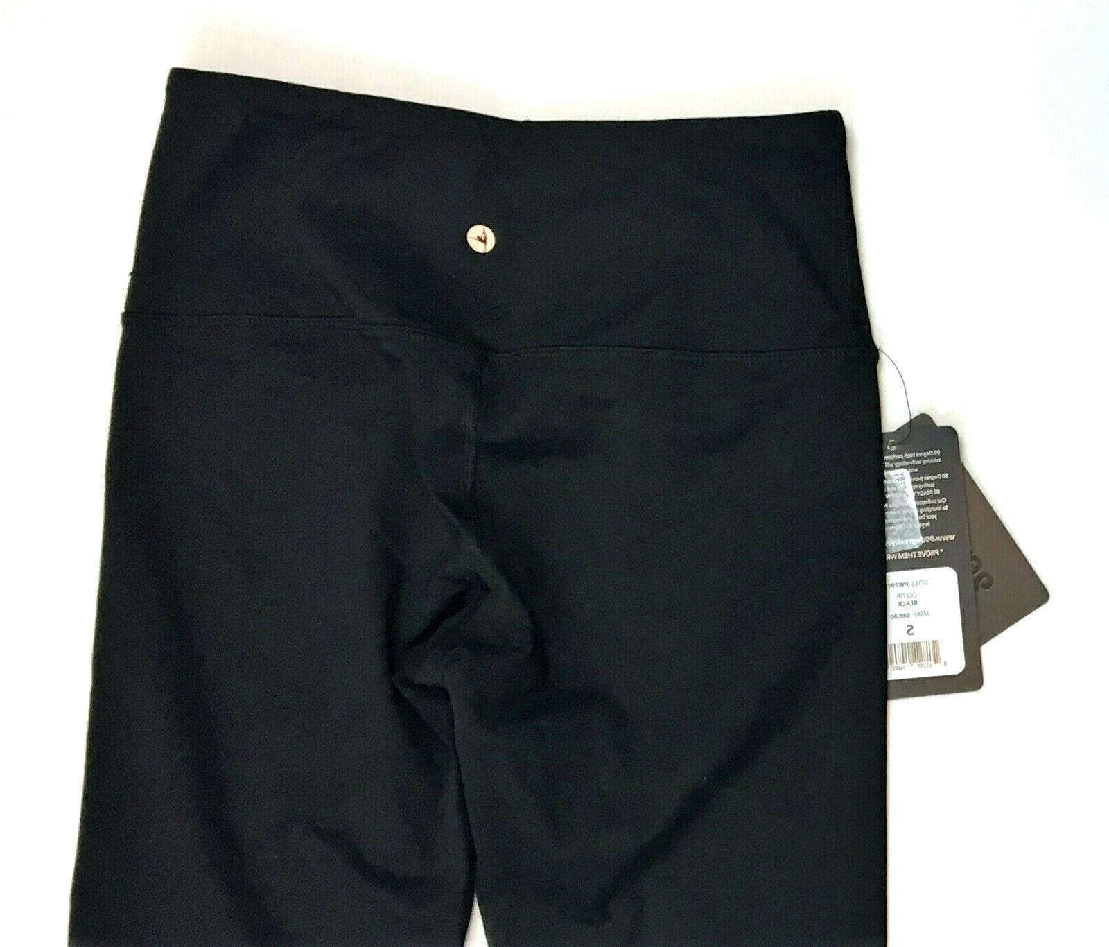 90 Degree By Reflex High Waist Flex Leggings, Black, MSRP $29.99
