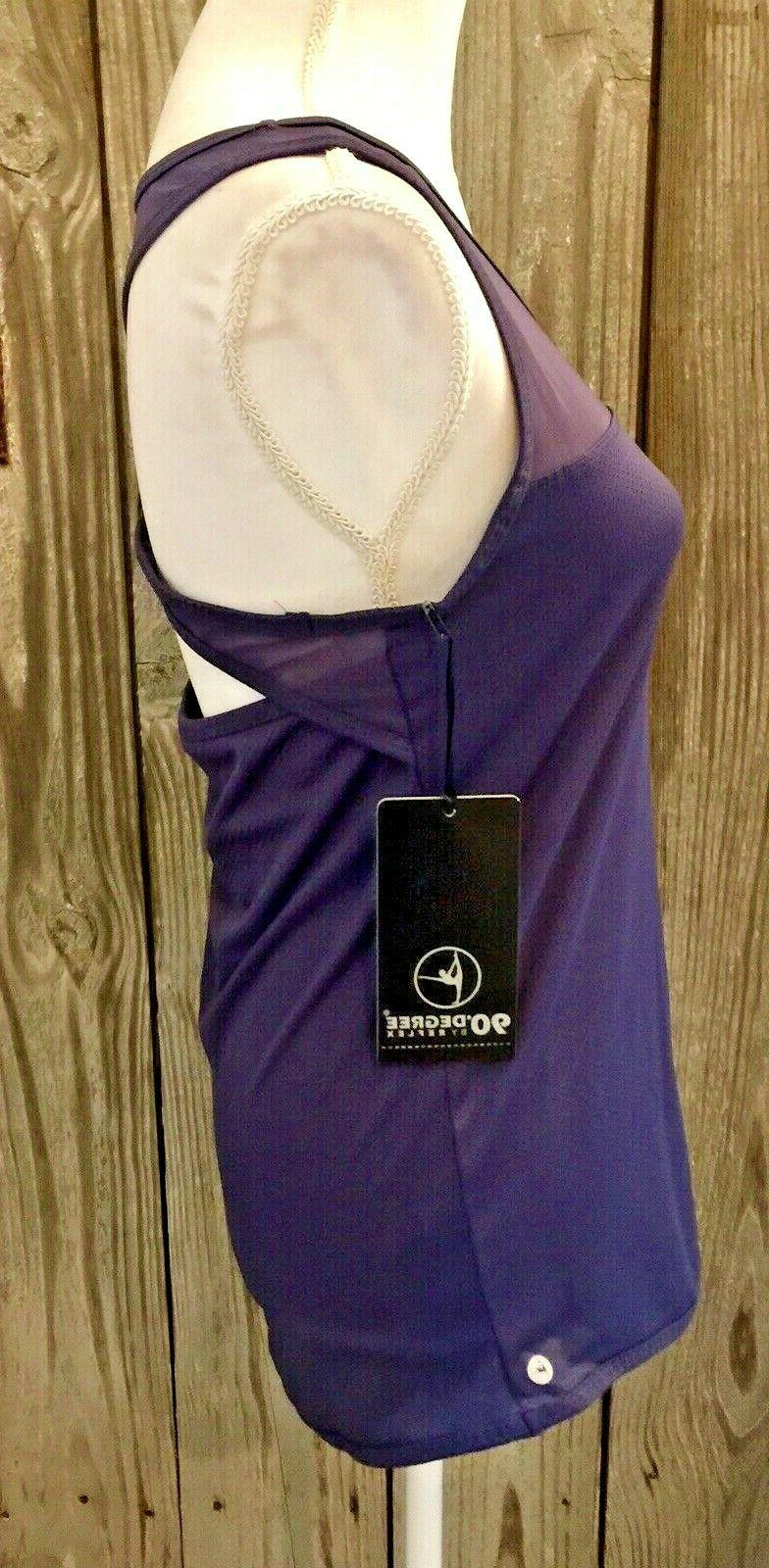 90 Degree By NEW Women's Athletic Racerback Top