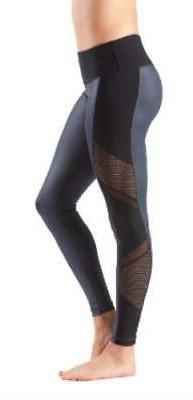 90 Degree by Reflex Cire & Athletic Mesh Legging
