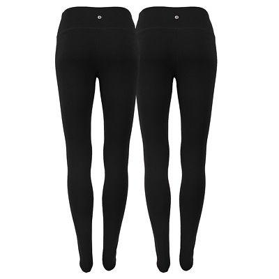 90 Degree by Reflex Women's Power Flex Yoga Leggings 2-Pack