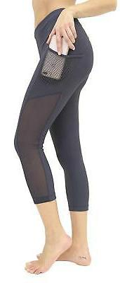 90 Degree By Women's High Waist Leggings with Smartphone