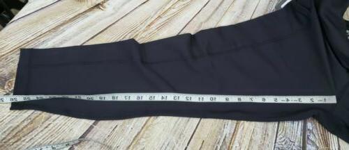 90 Degree Womens Pants Black XL Side Pockets NWT