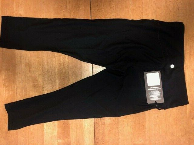 90 Degree Reflex Women's Leggings-NWT-BLACK GUNMETAL