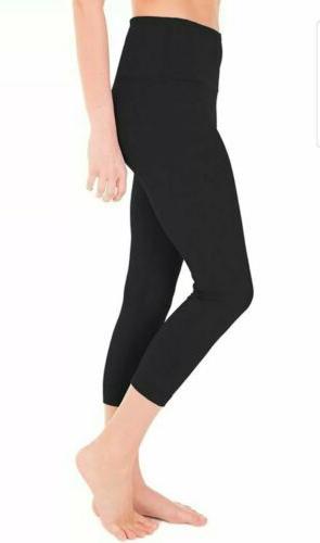 90 Degree Women's Leggings Black Size Medium High