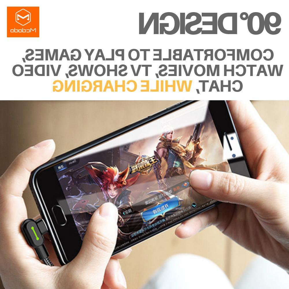 MCDODO Degree Lightning Charging iPhone X 8 6 6s Plus