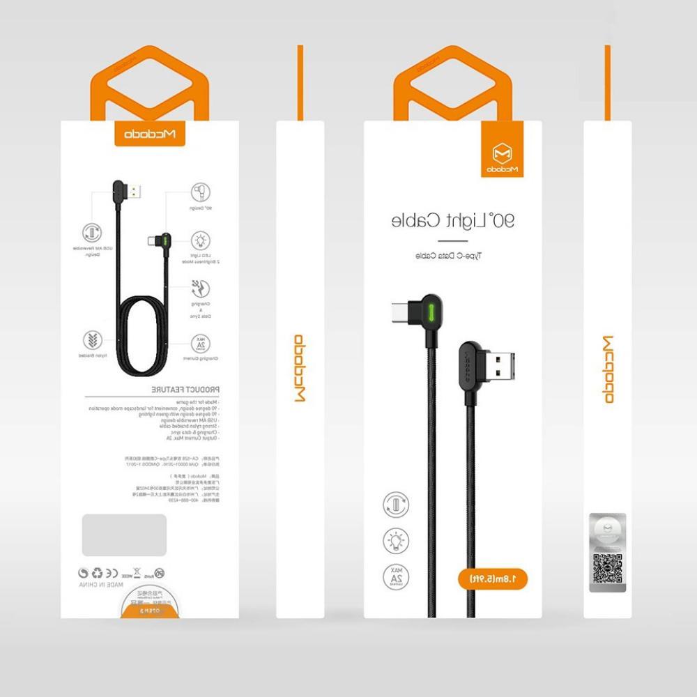 MCDODO 90 Elbow Lightning Charging Apple iPhone 8 6 Plus