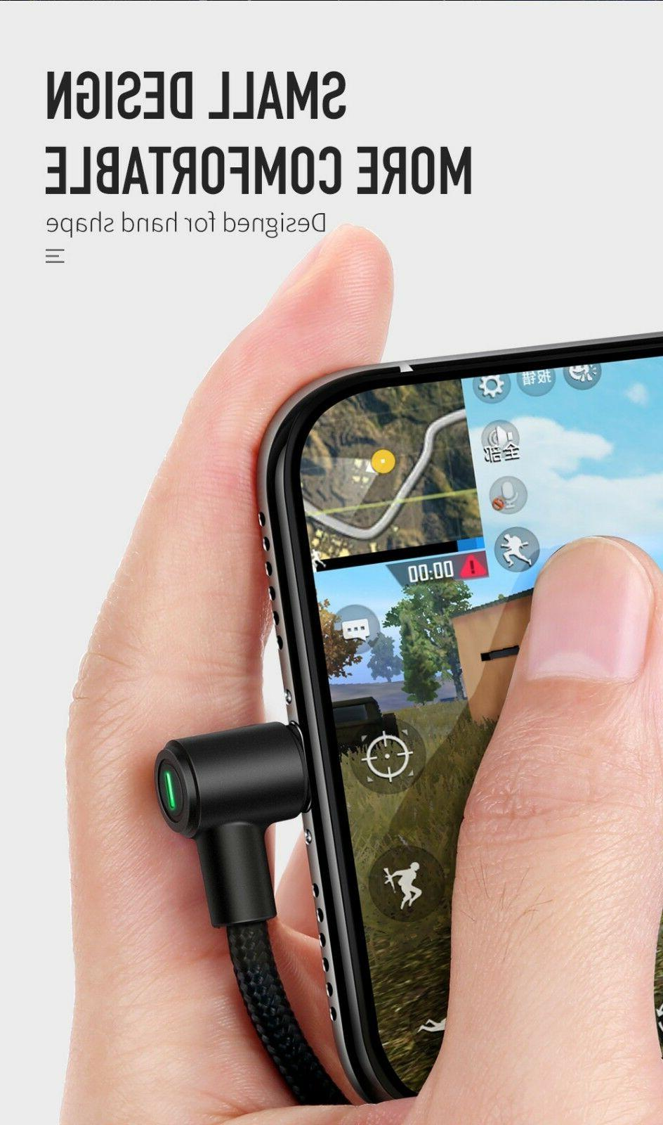 Mcdodo 90 Degree Lightning SYNC Charging Cable XR