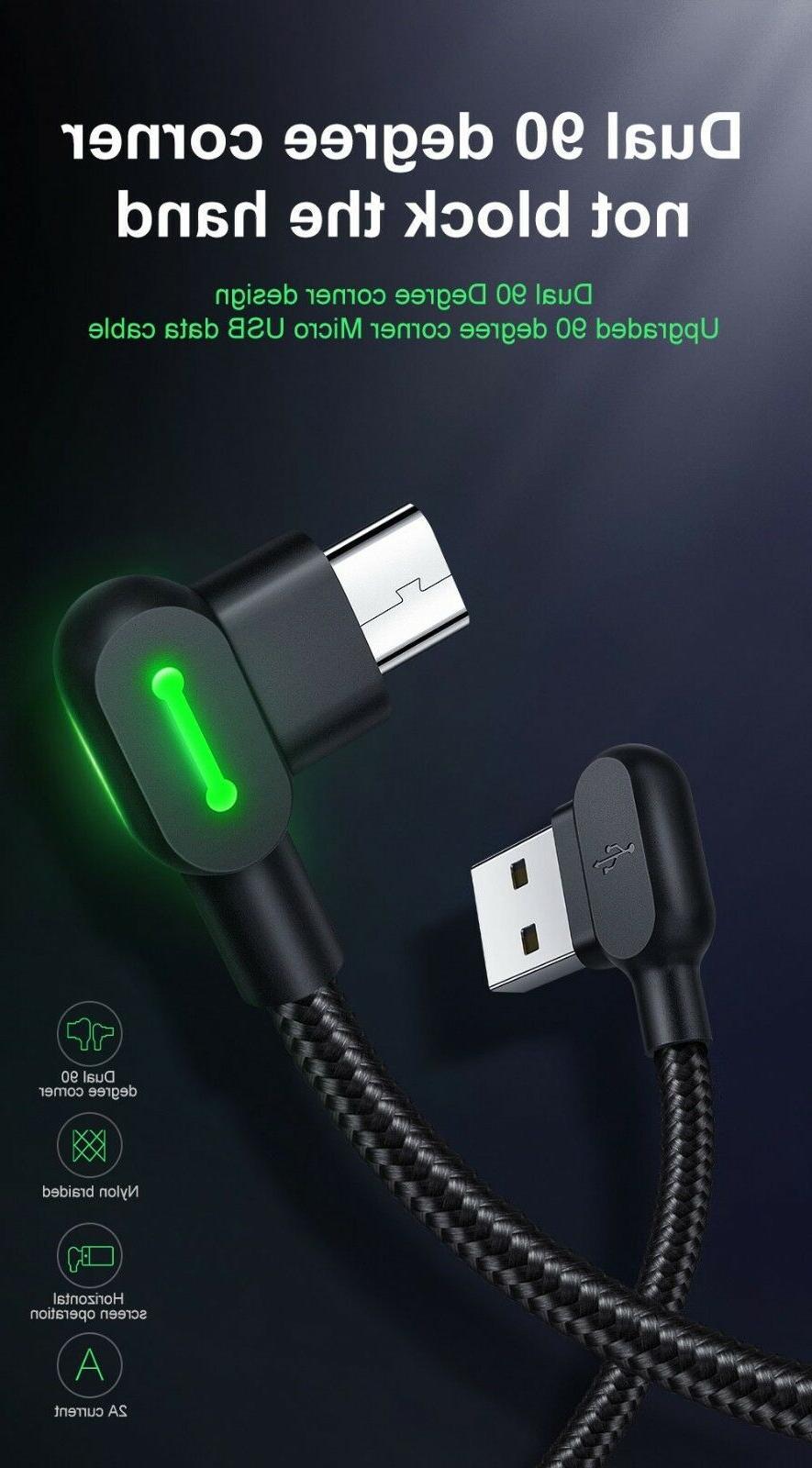 MCDODO 90 Degree Micro USB Cable S6