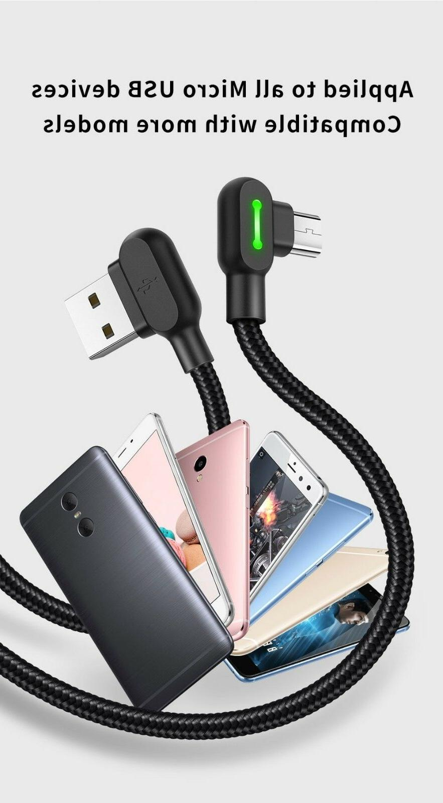MCDODO 90 Elbow Micro USB Cable Samsung S7 Android