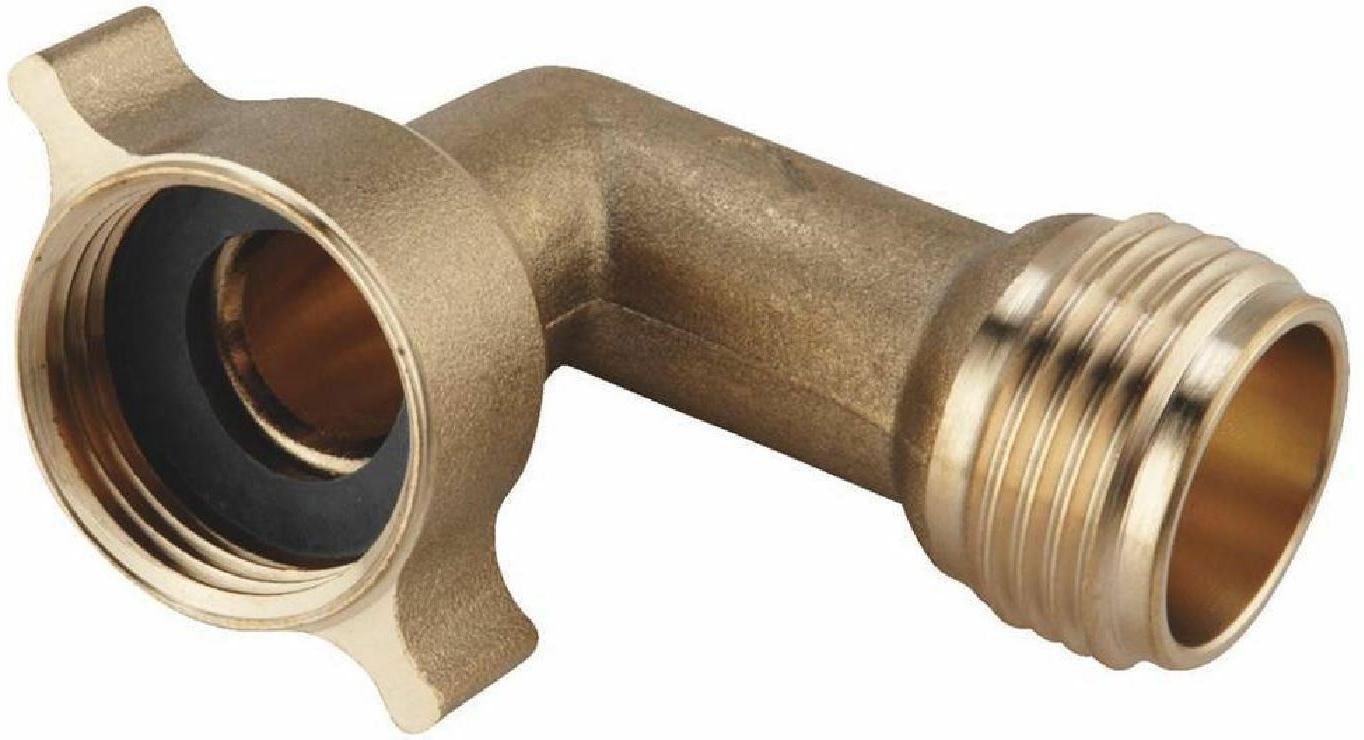 90 Elbow Machine Brass Connector RV