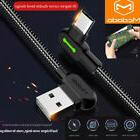MCDODO 90 Degree LED USB Type C Fast Charger Cable For Samsu