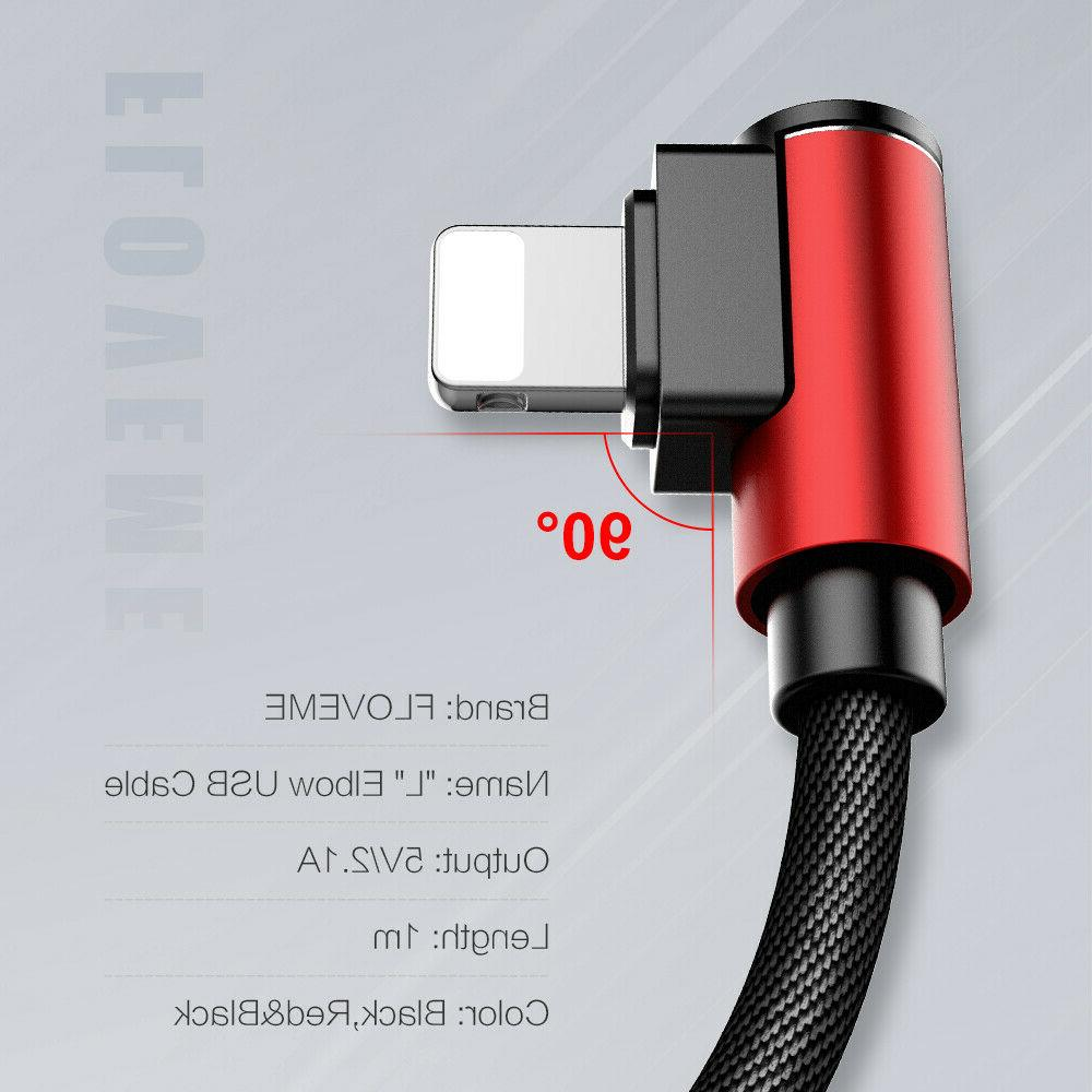 90 L Shape & Data Cable Angle Charger