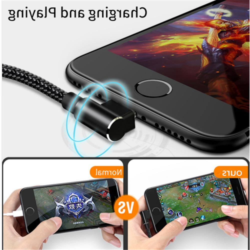 90 degree Micro Fast Charging Cable L shap