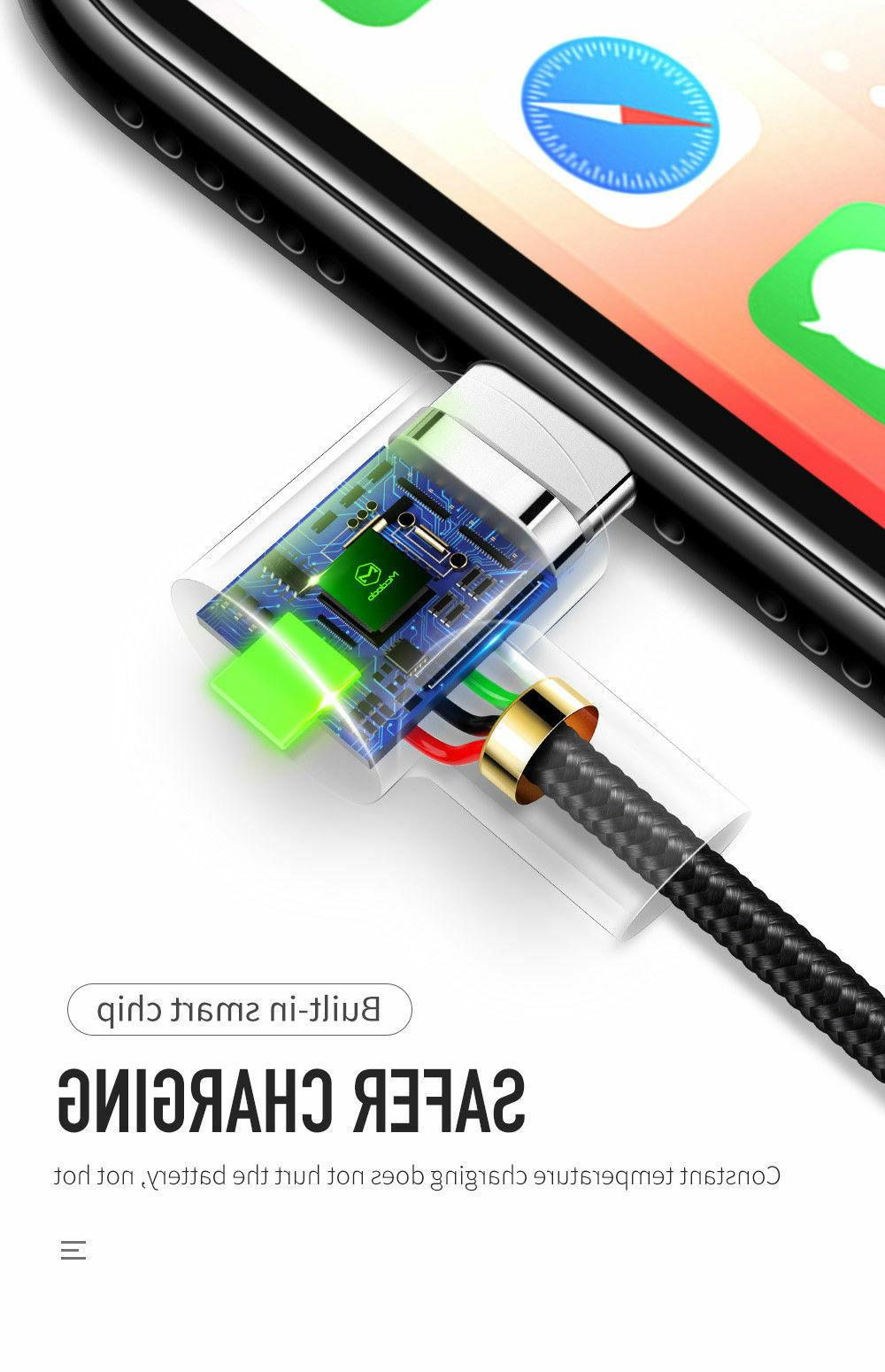 Mcdodo 90 USB Fast Charging for iPhone X 7