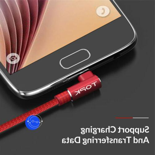 90 Cable Fast Charging Cable For Android Galaxy