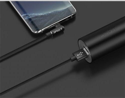 90 Degree Cable Fast Data Cable For Galaxy