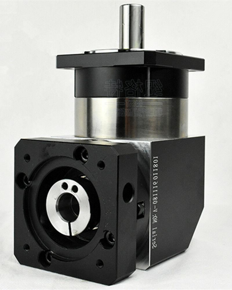 90 degree planetary gearbox 15:1 to 100:1 for NEMA23 stepper