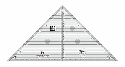 Creative Grids 90 Degree Quarter-Square Triangle Sewing and