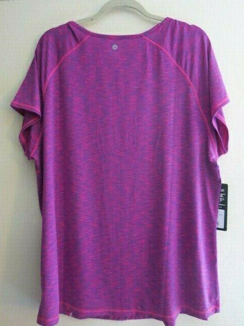 90 Active Workout Sleeve Top Shirt T-Shirt Fusion